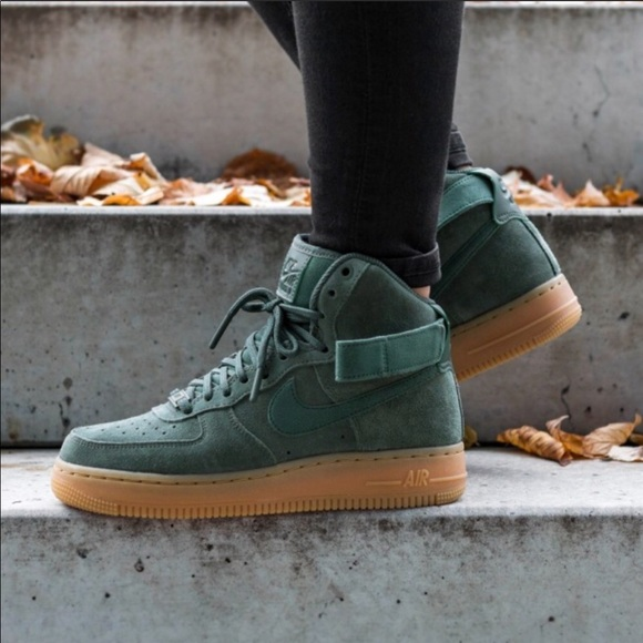 Nike Air Force 1 Low for Sale 07 Lv8 Suede Vintage Green